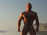 Ben Kieren Bodybuilder Sunset