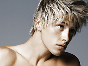 Sexy Mitch Hewer bares skin and lifts his sexy armpits in a near-nude shoot