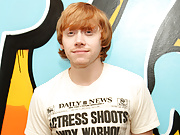 Sexy English redhead Rupert Grint fumbles for his pants naked fucking a slut