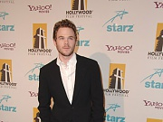 Shawn Ashmore lets his towel drop to the floor to show his sexy, sweating body