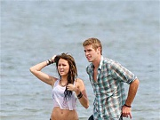 Liam Hemsworth bares his Australian hot bod and yummy crotch in sexy tighty whiteys