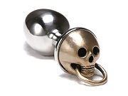 Skull knocker butt plug